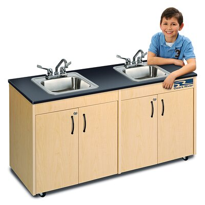 Ozark River Portable Sinks Lil Delux Finish: Maple