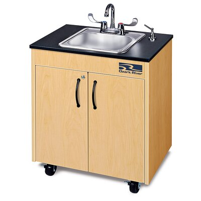 Ozark River Portable Sinks Lil Premier 1 Finish: Maple