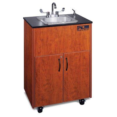Ozark River Portable Sinks Premier 1 Finish: Cherry