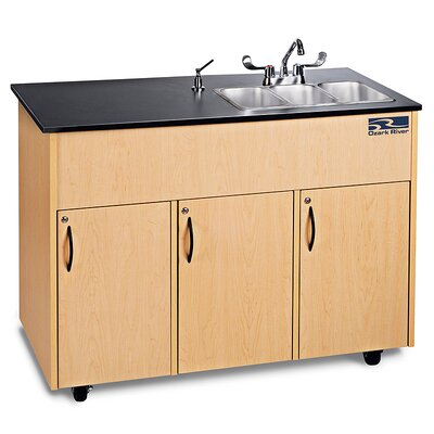Ozark River Portable Sinks Advantage 3 Finish: Maple