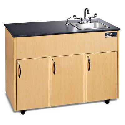 Ozark River Portable Sinks Advantage 1 Finish: Maple