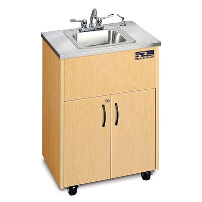 Ozark River Portable Sinks Silver Premier 1 Finish: Maple