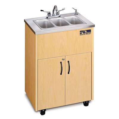 Ozark River Portable Sinks Silver Premier 3 Finish: Maple
