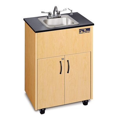 Ozark River Portable Sinks Premier 1 Finish: Maple
