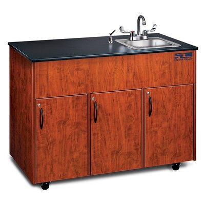 Ozark River Portable Sinks Advantage 1 Finish: Cherry