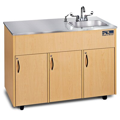 Ozark River Portable Sinks Silver Advantage 1D Finish: Maple