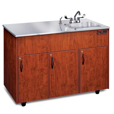 Ozark River Portable Sinks Silver Advantage 1D Finish: Cherry