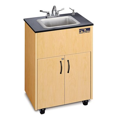 Ozark River Portable Sinks Premier 1D Finish: Maple