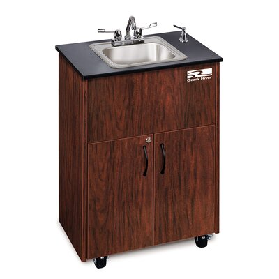 Ozark River Portable Sinks Premier 1 Finish: Mahogany