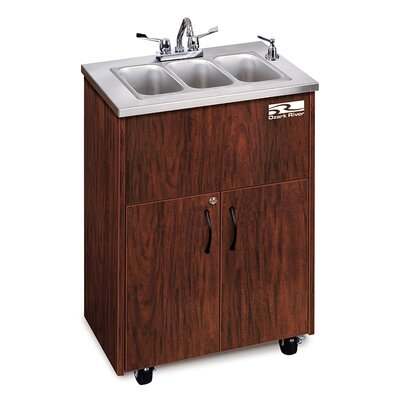 Ozark River Portable Sinks Silver Premier 3 Finish: Mahogany