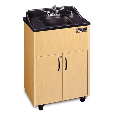 Premier Series 26 x 18 Single Hand-Wash Sink Cabinet Finish: Maple