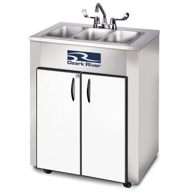 Elite Series 26 x 18 Triple LS Hand-Wash Sink