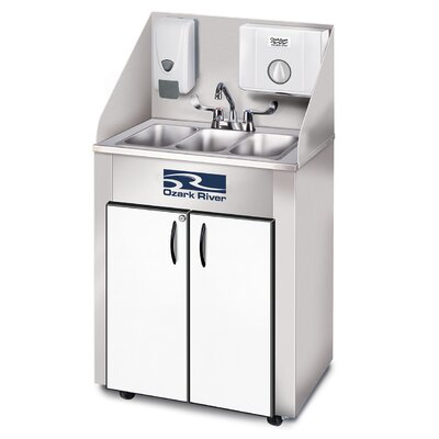 Elite Series 26 x 18 Triple Pro 3 Hand-Wash Sink