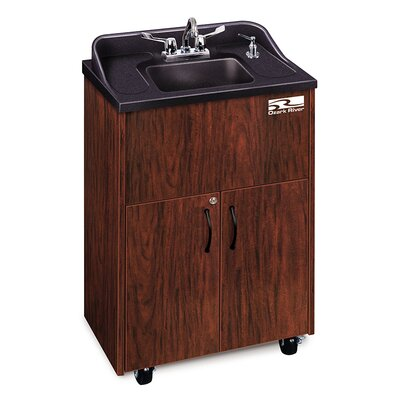 Premier Series 26 x 18 Single Hand-Wash Sink Cabinet Finish: Mahogany