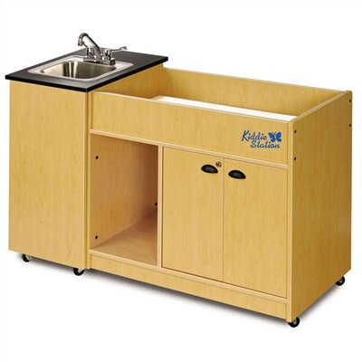 Ozark River Portable Sinks Kiddie Station 1 KSSTM-LM-SS1