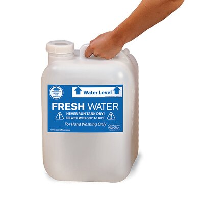 Ozark River Portable Sinks 5 Gallon Fresh Tank