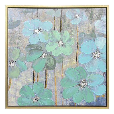 'Floral' Framed Painting Print 50438