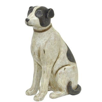 Sitting Dog Figurine 24331