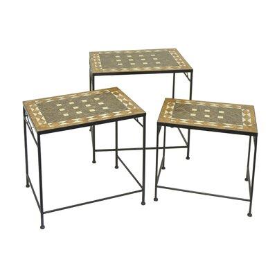 3 Piece Metal Nesting Tables
