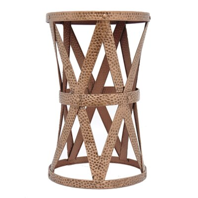 Metal End Table Finish: Gold