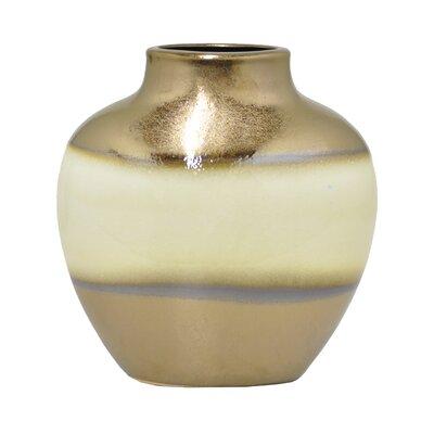 Modern Gold Ceramic Table Vase BBMT6165 41197127