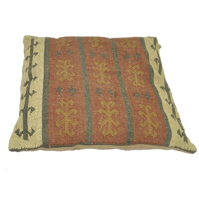 Calumet Jute Cushion Throw Pillow