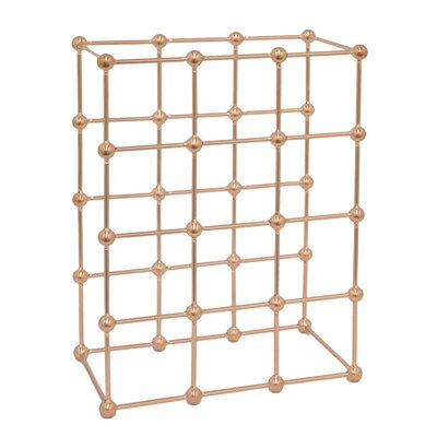 Janiyah Metal 12 Tabletop Wine Rack