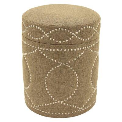 Karren Storage Ottoman Upholstery: Gold