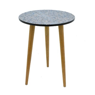 Mop End Table Color: Gray, Size: 22.5 H x 23.5 W x 23.5 D