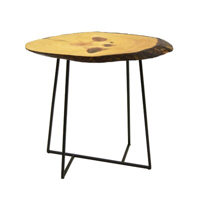 Rockport Wood/Metal End Table