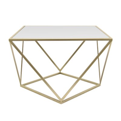 Contemporary Metal End Table