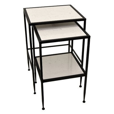 2 Piece Rectangle Nesting Tables