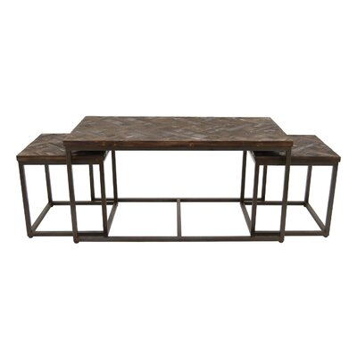 Nolasco Wood 3 Piece Nesting Tables