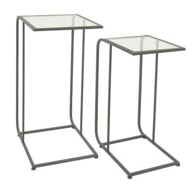 Zeringue Metal 2 Piece Nesting Tables