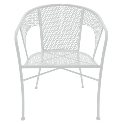 Propst Metal Side Chair Finish: White