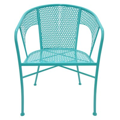 Propst Metal Side Chair Finish: Blue