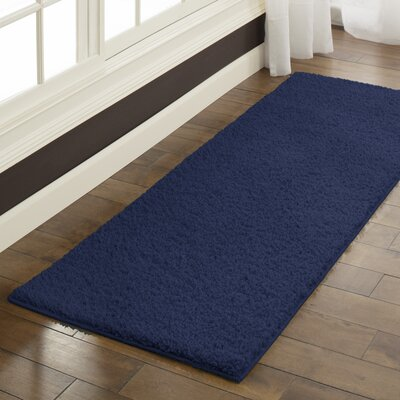 Claire Navy Area Rug Rug Size: Runner 2 x 6