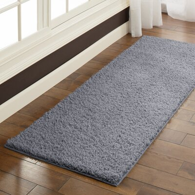 Aviles Grey Flannel Area Rug Rug Size: Runner 2 x 6