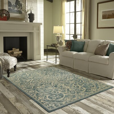 Hudson Light Spa Area Rug Rug Size: 26 x 310