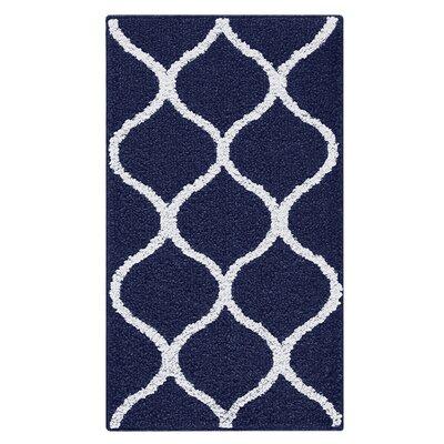 Carissa Blue Area Rug Rug Size: 18 x 210