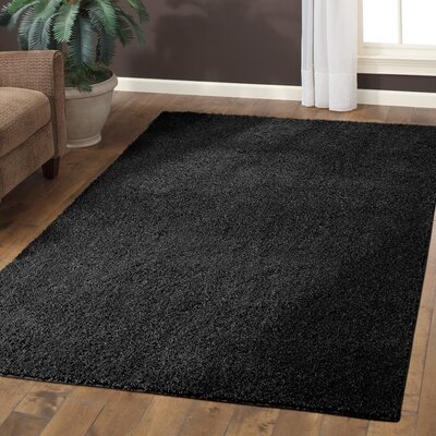 Claire Black Area Rug Rug Size: 7 x 10