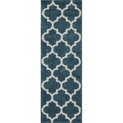 Marnie Blue Area Rug Rug Size: 7 x 10