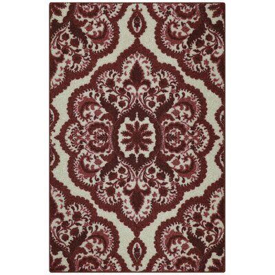 Fiona Red Area Rug Rug Size: 26 x 310