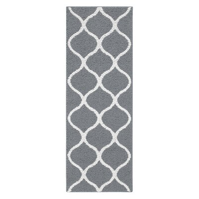 Carissa Gray Area Rug Rug Size: Runner 19 x 5
