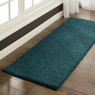 Claire Teal Quartz Area Rug Rug Size: Runner 2 x 6