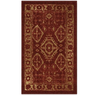 Jenny Red Area Rug Rug Size: 18 x 210