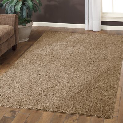 Aviles Maverick Brown Area Rug Rug Size: 5 x 7
