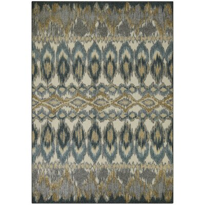 Hersey Blue Area Rug Rug Size: 5 x 7
