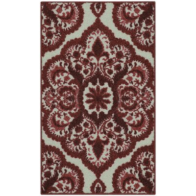 Fiona Red Area Rug Rug Size: 18 x 210