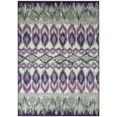Thea Purple Area Rug Rug Size: 5 x 7